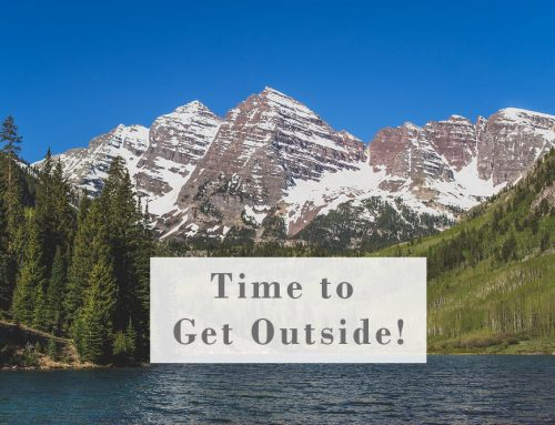 Time to Get Outdoors!