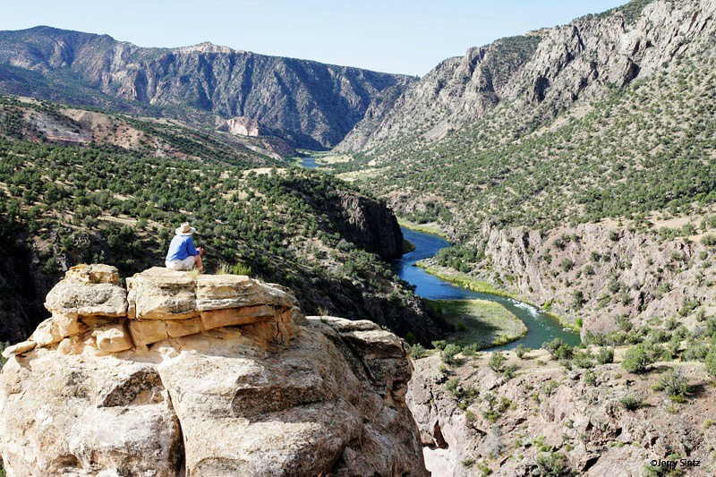 camping at Gunnison Gorge