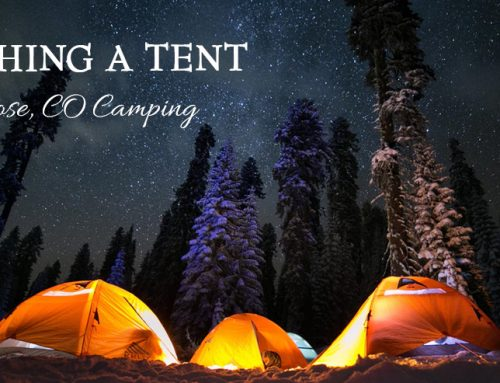 Montrose, CO – Pitching A Tent